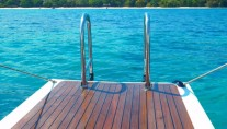 Aspiration superyacht - Swim platform