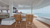 Avalon - Aft Deck lounging