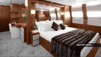 Aycer 110 Yacht - Master Suite