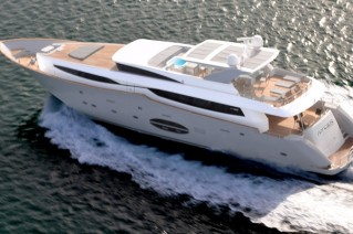 Aycer 110 Yacht - view from above
