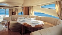 Azimut 68 Interior Dining