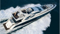 Azimut 98 - Underway From Above