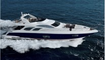 Azimut 98 - Underway