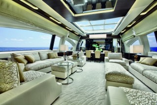 Azimut SL 120 Superyacht - Salon