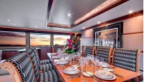 Azimut Yacht ANDIAMO -  Formal Dining Area