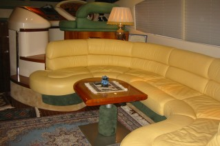 Azimut Yacht KIRAL -  Salon Seating