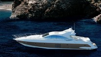 Azimut Yacht SQP -  At Anchor