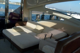 Azimut Yacht SQP -  Salon Seating