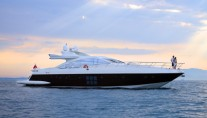 Azimut motor yacht MOSAFA -  At Sunset
