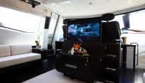 Azimut motor yacht MOSAFA -  Entertainment area