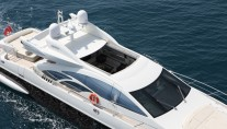 Azimut motor yacht MOSAFA -  View of Sunroof from above