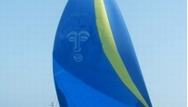 BAIURDO VI - Flying the Spinnaker