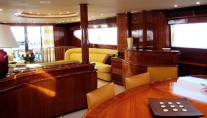 BEIJA FLORE -  Dining looking Aft