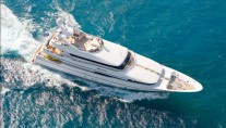 BLIND DATE Lurssen 41m -  View from Above