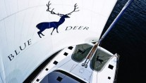 BLUE DEER Yacht from above