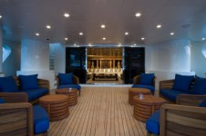 BLUE SCORPION - Aft Deck to Main Salon