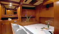 Baltic yacht MIDNIGHT SUN OF LONDON - Aft double cabin