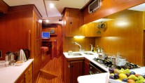 Baltic yacht MIDNIGHT SUN OF LONDON - Galley