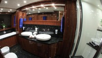 Barracuda Red Sea master cabin bathroom view