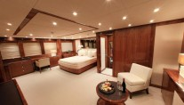 Barracuda Red Sea master cabin view 2