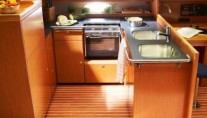 Bavaria 51 Cruiser Galley View