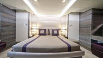 Beautiful-cabins-aboard-Cerri-102-hull 1 yacht