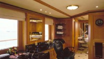 Beauty saloon aboard REVERIE superyacht by BENETTI
