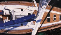 Beneteau 50 From above
