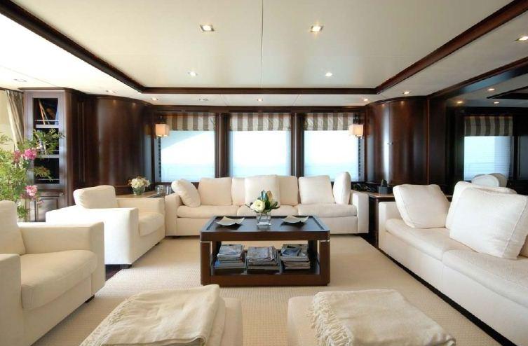 Benetti 122 Motor yacht -  Main Salon