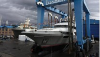 Benetti Classic Supreme 132 superyacht BS003 at launch