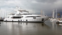 Benetti Crystal 140 Yacht Luna - a sistership to Hull CR 004 Yacht