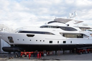 Benetti Crystal 140 Yacht Luna - side view.JPG