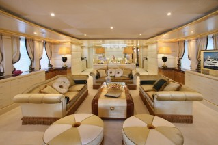 Benetti FB238 Platinum_Main Saloon