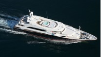 Benetti Superyacht SUNDAY -  From Above