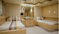 Benetti Superyacht SUNDAY -  Twin Cabin