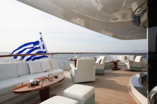Benetti Superyacht SUNDAY -  Upper Aft Deck