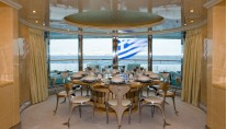Benetti Superyacht SUNDAY -  Upper Deck Dining