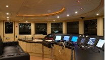 Benetti Superyacht SUNDAY -  Wheelhouse