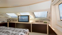 Benetti Tradition 105 motor yacht Master Suite detail