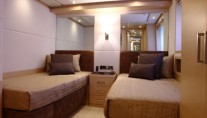 Benetti Tradition 105 motoryacht twin cabin
