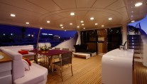 Benetti Tradition 105 superyacht upper deck