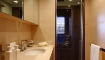 Benetti Tradition 105 yacht twin cabin bathroom