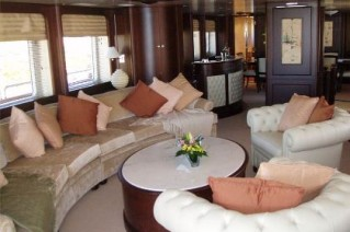 Benetti Yacht BACCHANAL -  Salon Seating