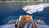Benetti Yacht ILLUSION - transom and watertoys