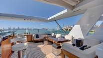 Benetti yacht DREW - Sundeck seating and dining