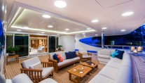 Benetti yacht LADY MICHELLE - Aft deck seating