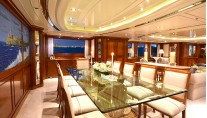 Benetti yacht LADY MICHELLE - Formal dining main deck