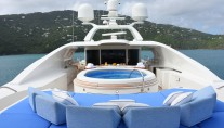 Benetti yacht LADY MICHELLE - Sundeck and Jacuzzi