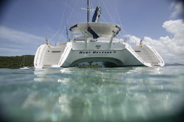 Catamaran 'Best Revenge 5'