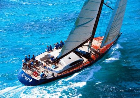 Sailing Yacht Keanimai (ex Bharlin Blue)